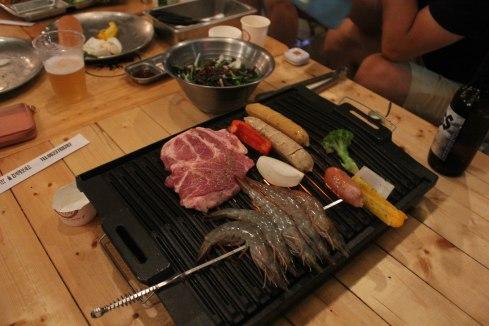 Camping restaurant in Gwangju